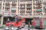 Il frigo va in corto circuito, in fiamme un alloggio popolare a Trapani