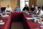 La giunta regionale riunita a Pergusa
