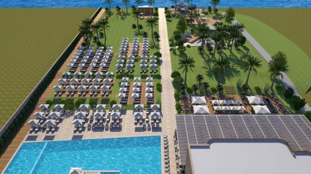 Himera beach club, Palermo, Economia