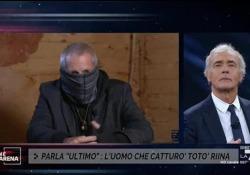 Il Colonnello Sergio De Caprio, detto anche Capitano Ultimo e noto soprattutto per essere l'uomo che ha arrestato il capo dei capi Totò Riina nel 1993, e' intervenuto questa sera in collegamento a Non e' L'Arena di Massimo Giletti su La7