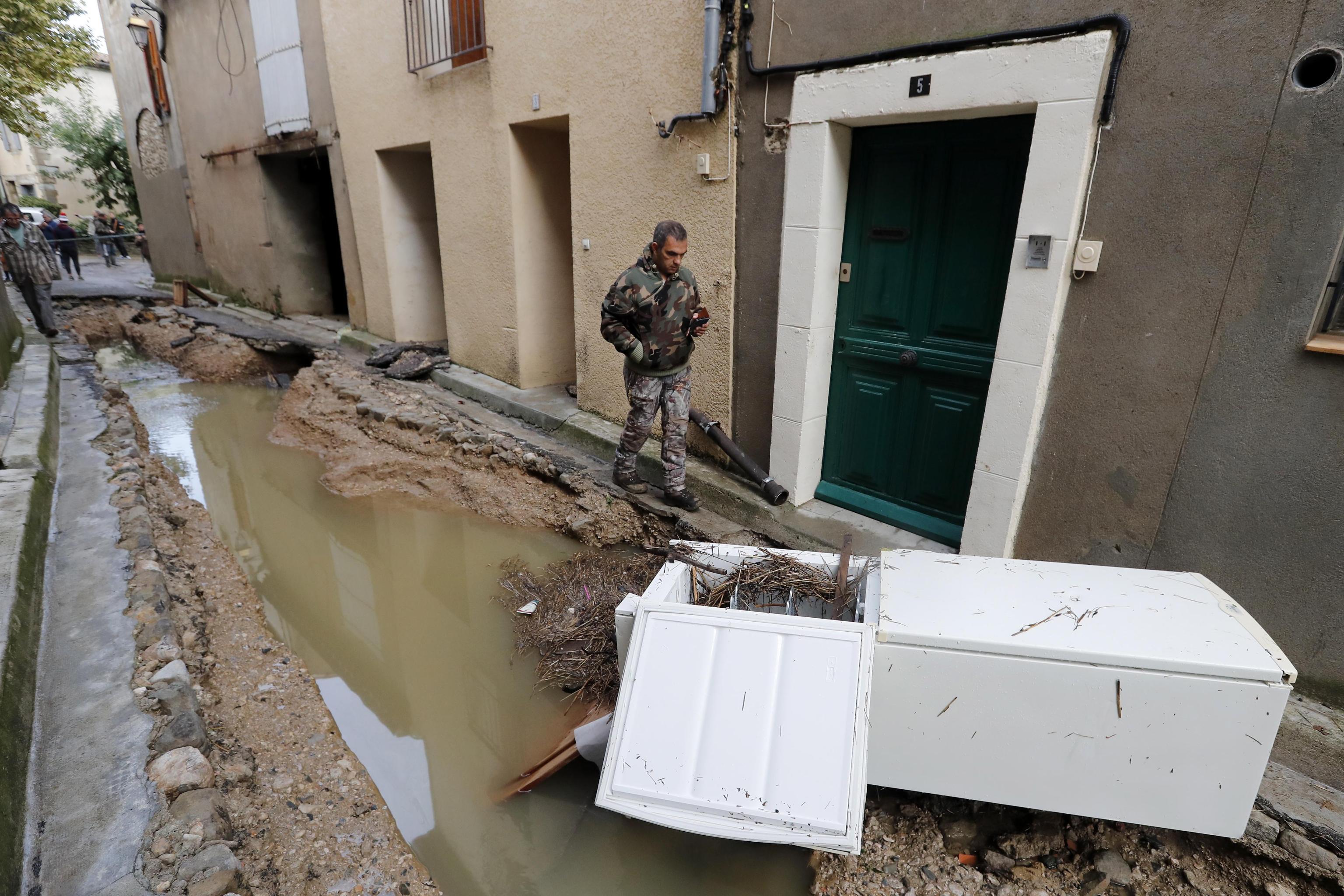 Pioggia record in Francia: 11 morti