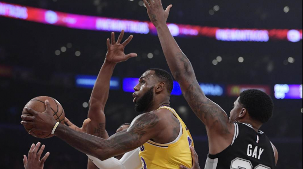 Los Angeles Lakers Nba, LeBron James, Sicilia, Sport