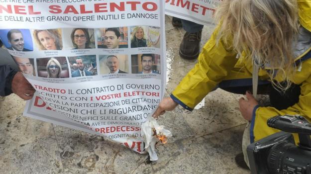 no tap, Sicilia, Politica