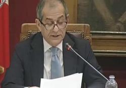 Il ministro dell'economia ha presentato la manovra in audizione alle Camere