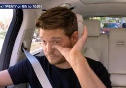 Durante la sua partecipazione a «Carpool karaoke» al fianco del conduttore James Corden