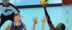 Mondiali di pallavolo femminile, un momento della gara Italia-Cina