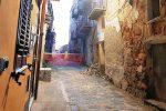 Paura nel centro storico di Agrigento: crolla una palazzina disabitata, evacuate 4 famiglie