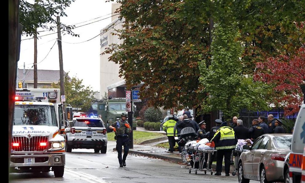 Strage nella Sinagoga, morti e feriti a Pittsburgh