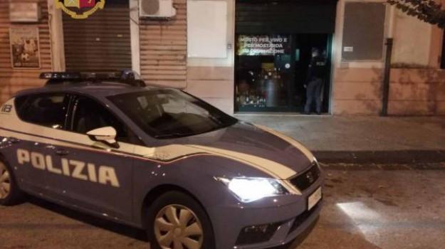 furto enoteca messina, Messina, Cronaca