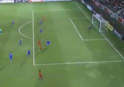 Diogo Goncalves ha stupito tutti durante la partita del Portogallo under 21 contro i coetanei della Bosnia