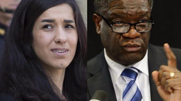 Nobel per la pace, Denis Mukwege, Nadia Murad, Sicilia, Mondo