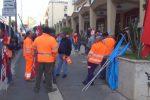 Passante ferroviario a Palermo, protesta contro i licenziamenti dei lavoratori Sis