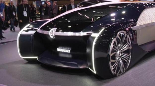 Renault ez ultimo limousinedi lusso del futuro giornale di sicilia
