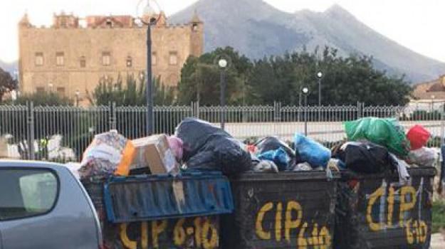 bellolampo rifiuti palermo, rifiuti palermo, Palermo, Cronaca