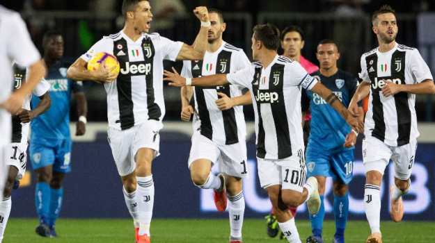 Empoli-Juventus, Cristiano Ronaldo, Sicilia, Sport
