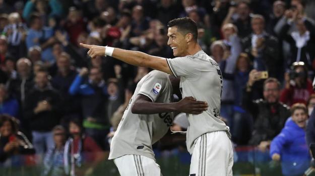 Udinese Juventus, Cristiano Ronaldo, Sicilia, Sport
