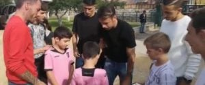 Palermo, al Centro Padre Nostro i rosanero e i volti di Sky Sport incontrano i bimbi