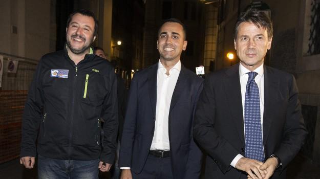 caso siri, DIMISSIONI, governo, Giuseppe Conte, Luigi Di Maio, Matteo Salvini, Sicilia, Politica