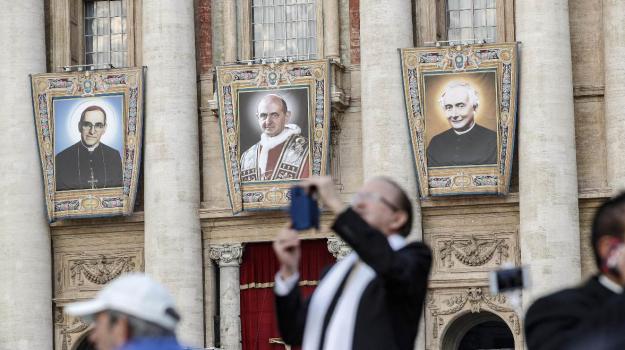 Romero Paolo VI Santi, Paolo VI, Papa Francesco, Sicilia, Cronaca