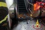 Paura alla stazione metro di Roma, cede scala mobile: 24 feriti, molti tifosi del Cska Mosca