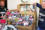 Controlli alla fiera merceologica di San Cataldo, sequestrati 2600 prodotti contraffatti