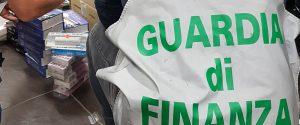 Maxi-sequestro della guardia di finanza in un grande magazzino a Partinico