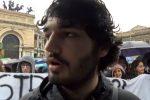 """Palermo, gli studenti protestano contro il governo: """"Le nostre scuole a rischio sicurezza"""""""