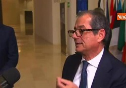 Il ministro dell'Economia all'Ecofin