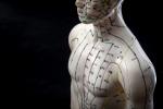 Un manichino per imparare l'agopuntura