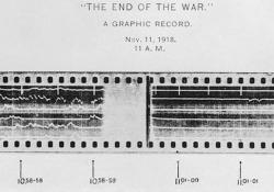 Pubblicata una registrazione che documenta la fine della Grande Guerra