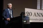 Piero Benvenuti, commissario straordinario dell'Asi, nella sua prima uscita pubblica (fonte: ASI)