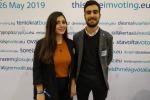 Studenti universitari dello 'Youth Parliament' a Bruxelles
