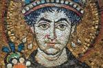 Ravenna, Basilica di San Vitale, Mosaico di Giustiniano