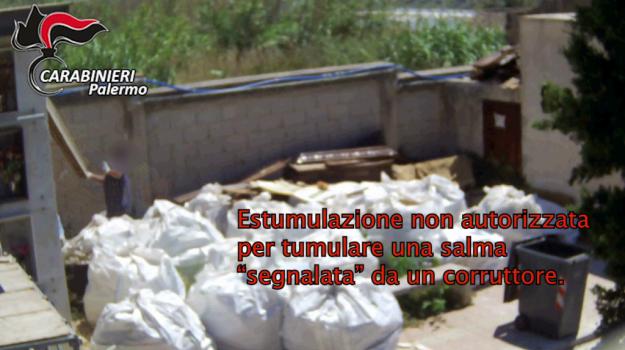Corrupción, dinero para acelerar el entierro en el cementerio de Bagheria: 10 medidas de precaución