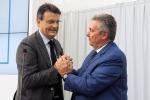 A sinistra Pietro Ferrari con il presidente uscente di Confindustria Emilia-Romagna, Maurizio Marchesini