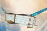 L'aereo compatto e senza parti mobili realizzato al Mit (fonte: Christine Y. He)