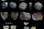 Gli strumenti 'milleusi' dell'Età della pietra (fonte: Marwick et al., Nature)