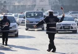 Blocco Auto a Roma