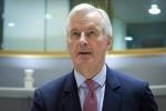 Il capo negoziatore Ue Michel Barnier
