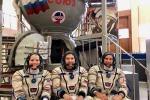 Il prossimo equipaggio della Soyuz pronto a partire il 3 dicembre (fonte: CSA)