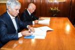Angelo Stichi Damiani, Presidente dell?Automobile Club d'Italia, e Andrea Abodi, Presidente di ICS