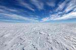 Lo scioglimento dei ghiacci antartici potrebbe raffreddare l'atmosfera (fonte: Kelly Brunt, courtesy National Science Foundation)