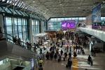 Un'immagine dell'aeroporto di Fiumicino