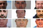 Mafia e scommesse nella Sicilia orientale: nomi e foto dei coinvolti