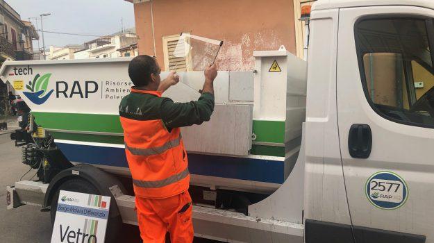 emergenza rifiuti palermo, Palermo rifiuti, piano Rap Palermo, porta a porta centro, Palermo, Cronaca