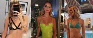 "Chiara Ferragni torna in forma e si mostra in lingerie: trasparenze ""bollenti"" su Instagram"