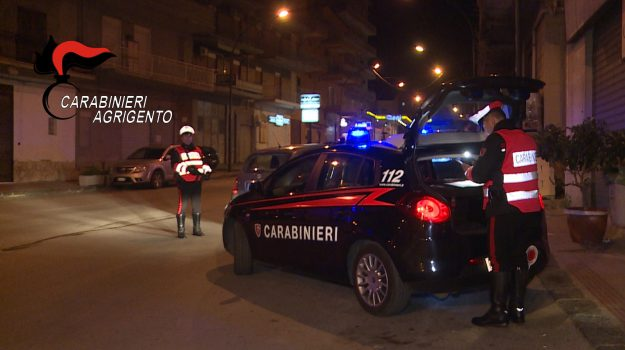 rapina tabaccheria canicattì, Vincenzo Tiranno, Agrigento, Cronaca