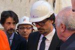 Anello ferroviario, Toninelli visita il cantiere a Palermo: le foto