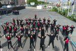"""""""No alla violenza, sì all'amore"""", le foto del flash mob a Riposto contro il femminicidio"""
