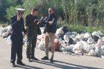 Il comandante dei vigili urbani Giuseppe Montana, il commissario Rosario Arena e il segretario della Cgil Ignazio Giudice